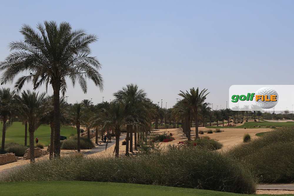 A view from the 3rd during Round 2 of the Commercial Bank Qatar Masters 2020 at the Education City Golf Club, Doha, Qatar . 06/03/2020<br /> Picture: Golffile   Thos Caffrey<br /> <br /> <br /> All photo usage must carry mandatory copyright credit (© Golffile   Thos Caffrey)