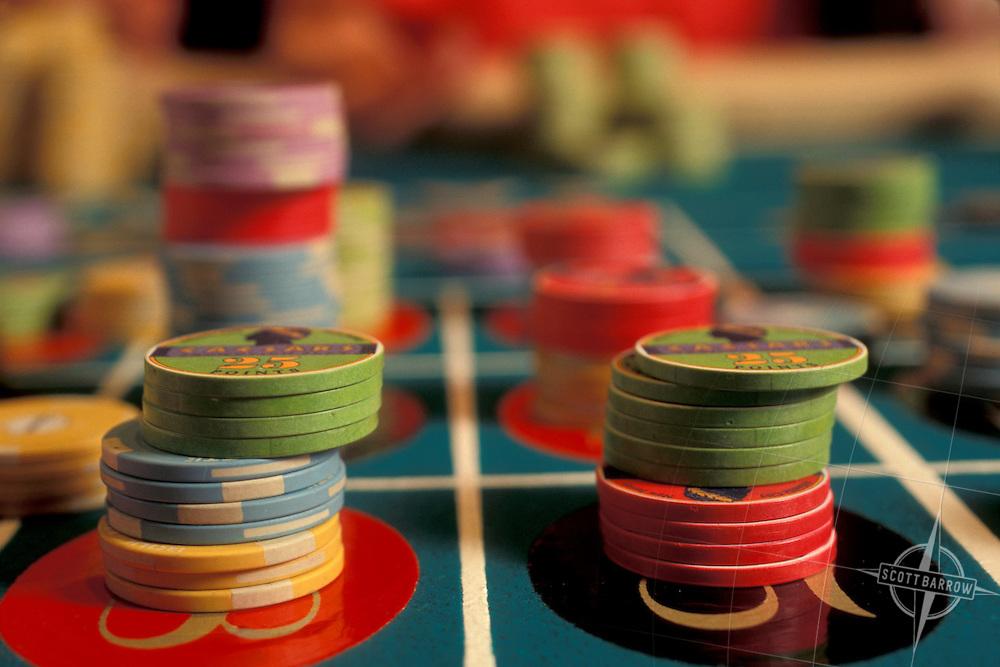 Roulette Chips, Caesar's Casino