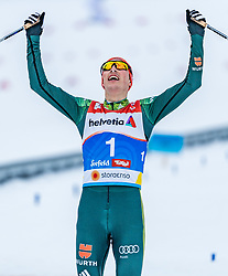 22.02.2019, Seefeld, AUT, FIS Weltmeisterschaften Ski Nordisch, Seefeld 2019, Nordische Kombination, Langlauf, im Bild Eric Frenzel (GER) // Eric Frenzel of Germany during the Cross Country Competition of Nordic Combined for the FIS Nordic Ski World Championships 2019. Seefeld, Austria on 2019/02/22. EXPA Pictures © 2019, PhotoCredit: EXPA/ Stefan Adelsberger