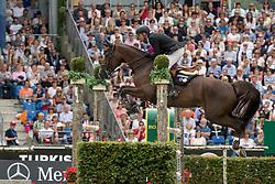 Duguet Romain, (SUI), Quorida de Treho<br /> Rolex Grand Prix<br /> CHIO Aachen 2016<br /> © Hippo Foto - Dirk Caremans<br /> 17/07/16