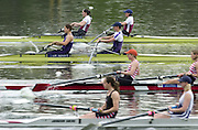 Hazewinkel. BELGUIM  GBR W2- start.top Bow. Kath GRAINGER and Cath BISHOP. 2004 GBR Rowing Trials - Rowing Course, Bloso, Hazewinkel. BELGUIM. [Mandatory Credit Peter Spurrier/ Intersport Images]