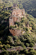 Israel, Upper Galilee, The Montfort (German: Starkenberg) a ruined crusader fortress The site is now a national park inside the nature reserve of Keziv stream, and it constitutes an important spot of tourism and attracts many tourists both from inside and outside Israel.