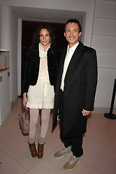VISCOUNT MACMILLAN and ASTRID MUNOZ at the Art Plus Drama party Held at the Whitechapel Art Gallery, London E1 on 8th March 2007. <br /><br />NON EXCLUSIVE - WORLD RIGHTS