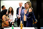 Koningin Maxima in haar functie van speciale pleitbezorger van de VN secretaris-generaal voor inclusieve financiering voor ontwikkeling (UNSGSA) een aantal gesprekken over de stand van zaken van inclusieve financiering in Indonesie. /// Queen Maxima in her position as special advocate of the UN Secretary General for Inclusive Financing for Development (UNSGSA) held a number of discussions about the state of affairs of inclusive financing in Indonesia.
