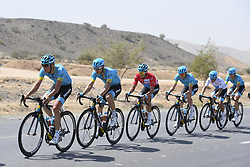 February 18, 2018 - Muscat, Oman - MUSCAT, SULTANATE OF OMAN - FEBRUARY 18 : LUTSENKO Alexey of Astana Pro Team during stage 6 of the 9th edition of the 2018 Tour of Oman cycling race, a stage of 135,5 kms between Al Mouj Muscat and Matrah Corniche on February 18, 2018 in Muscat, Sultanate Of Oman, 18/02/2018 (Credit Image: © Panoramic via ZUMA Press)