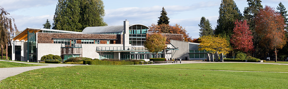 The Shadbolt Centre for the Arts at Deer Lake Park in Burnaby, British Columbia, Canada.  The Shadbolt Centre for the Arts is a venue for live performances, arts programs, community events, and festivals.
