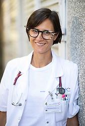 Portrait of dr. Tina Plankar Srovin, medical doctor with a specialisation in pediatrics, on September 4, 2020 in Ljubljana, Slovenia. Photo by Vid Ponikvar / Sportida