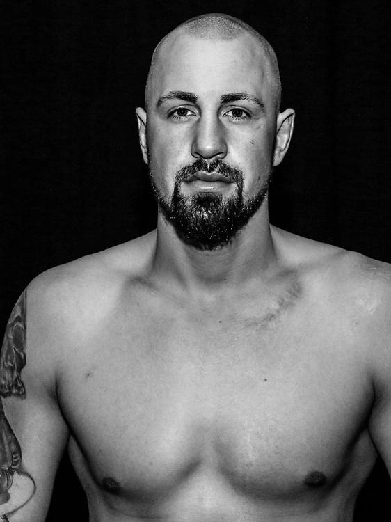 BOXEN: Studio, Portrait of a Boxer, Hamburg, 08.04.2018<br /> Christian Lewandowski (GER)<br /> © Torsten Helmke