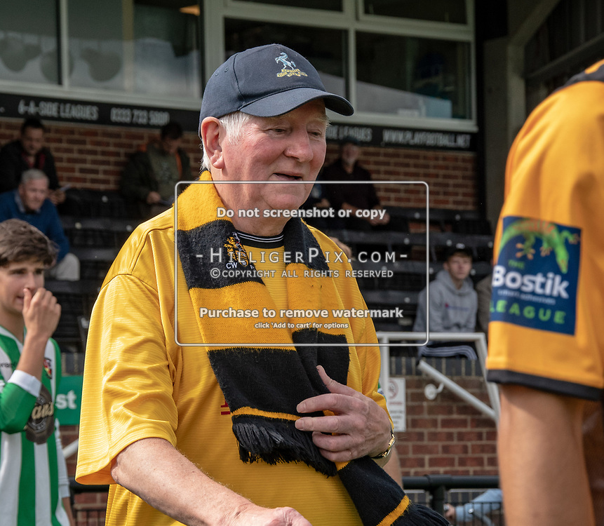 BROMLEY, UK - AUGUST 25: <br /> Cray Wanderers mascot before the FA Cup Preliminary Round match between Cray Wanderers and Rusthall at Hayes Lane on August 25, 2018 in Bromley, UK. (Photo: Jon Hilliger / Cray Wanderers)