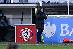 Matt Beard manager of Bristol City Women - Mandatory by-line: Ryan Hiscott/JMP - 14/02/2021 - FOOTBALL - Twerton Park - Bath, England - Bristol City Women v Chelsea Women - FA Womens Super League 1