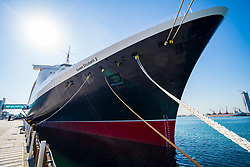 Queen Elizabeth 2 former ocean liner now reopened as hotel in Dubai , United Arab Emirates