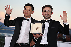 Cannes - Winners Photocall 19 May 2018