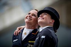 Dorothee Schneider, Kritina Bröring-Sprehe<br /> Grand Prix Kür - Deutsche Bank Preis<br /> CHIO Aachen 2016<br /> © Hippo Foto - Dirk Caremans<br /> 17/07/16