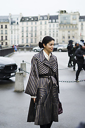 March 4, 2018 - Paris, France - Katerine Issa attends The Givenchy Show During Paris Fashion Week on March 4, 2018 in Paris, France. (Credit Image: © Nataliya Petrova/NurPhoto via ZUMA Press)