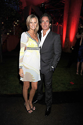 TIM & MALIN JEFFERIES at the annual Serpentine Gallery Summer Party in Kensington Gardens, London on 9th September 2008.