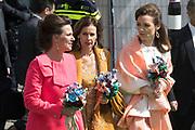 Koningsdag 2017 in Tilburg / Kingsday 2017 in Tilburg<br /> <br /> Op de foto / On the photo:  prinses Annette ,  prinses Aimee  en prinses Anita