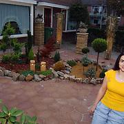 Zelf ontworpen tuin Mw.Osgur uit Huizen