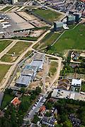 Nederland, Utrecht, Leidsche Rijn, 03-05-2011; Wijk het Zand met Brede School 't Zand (Forum 't Zand) in Groot Zandveld .School in new district Leidsche Rijn..luchtfoto (toeslag), aerial photo (additional fee required).copyright foto/photo Siebe Swart