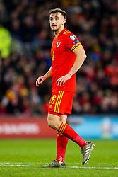 Tom Lockyer of Wales - Rogan/JMP - 19/11/2019 - FOOTBALL - Cardiff City Stadium - Cardiff, Wales - Wales v Hungary - UEFA Euro 2020 Qualifiers.