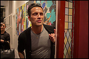 ANDREAS SIEGFRIED, James Franco exhibition 'Fat Squirrel' at Siegfried Contemporary, Basset Rd, London W10. 23 November 2014.
