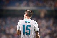 Real Madrid's Theo Hernandez during XXXVIII Santiago Bernabeu Trophy at Santiago Bernabeu Stadium in Madrid, Spain August 23, 2017. (ALTERPHOTOS/Borja B.Hojas)