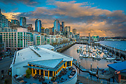 Seattle skyline from Pier 66