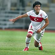 Turkey's Cigdem BELCI during their UEFA 2013 Woman's Euro Qualifying Group Stage Group 2 soccer match Turkey betwen Spain at Kasimpasa Recep Tayyip Erdogan stadium in Istanbul September 17, 2011. Photo by TURKPIX