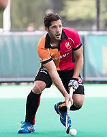 ROTTERDAM -  Augustin Mazzilli (Oranje-Rood)  tijdens de wedstrijd om de derde plaats tegen Oranje Rood bij de ABN AMRO cup. COPYRIGHT KOEN SUYK