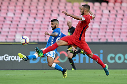 September 15, 2018 - Lorenzo Insigne of SSC Napoli attempts to score first goal during the Serie A match between Napoli and Fiorentina at Stadio San Paolo, Naples, Italy on 15 September 2018. Photo by Giuseppe Maffia. (Credit Image: © AFP7 via ZUMA Wire)
