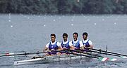 Lucerne, SWITZERLAND.  ITA LM4X 1992 FISA World Cup Regatta, Lucerne. Lake Rotsee.  [Mandatory Credit: Peter Spurrier: Intersport Images] 1992 Lucerne International Regatta and World Cup, Switzerland
