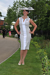 SUZI PERRY at day 1 of the Royal Ascot Racing Festival 2012 held on 19th June 2012.