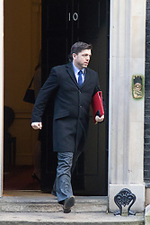 Downing Street, London, February 2nd 2016. Welsh Secretary Stephen Crabb leaves No 10 after attending the weekly Cabinet meeting. ///FOR LICENCING CONTACT: paul@pauldaveycreative.co.uk TEL:+44 (0) 7966 016 296 or +44 (0) 20 8969 6875. ©2015 Paul R Davey. All rights reserved.