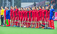 ANTWERP - BELFIUS EUROHOCKEY Championship  .  Spain v Wales (5-1).  line up team Wales. WSP/ KOEN SUYK