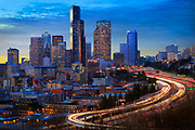 Seattle skyline from Rizal Park