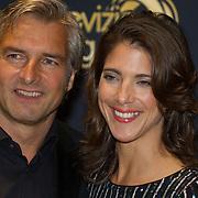 NLD/Amsterdam/20151015 - Televizier gala 2015, Victor Reinier en partner Aimee Kiene