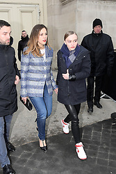 January 24, 2017 - Paris, France - Alysson Paradis - Lily-Rose Depp - Show Chanel - Paris Fashion Week Haute Couture Spring-Summer 2017 - 24 janvier 2017 - FRANCE (Credit Image: © Visual via ZUMA Press)