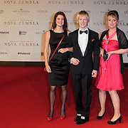 NLD/Amsterdam/20111121 - Premiere Nova Zembla 3D, , Jochem van der Woude en .