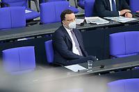 DEU, Deutschland, Germany, Berlin, 04.03.2021: Bundesgesundheitsminister Jens Spahn (CDU) in der Plenarsitzung im Deutschen Bundestag.