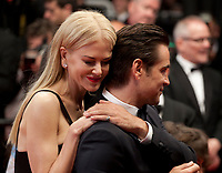 Nicole Kidman, Colin Farrell at The Killing of a Sacred Deer gala screening at the 70th Cannes Film Festival Monday 22nd May 2017, Cannes, France. Photo credit: Doreen Kennedy