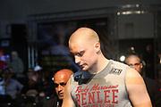 Boxing: Cruiserweight, Heavyweight, Adrian Granat (SWE) - Andreas Kapp (AUT), Hamburg, 16.05.2014<br /> Andrian Granat (SWE)<br /> ©Torsten Helmke