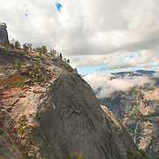Half Dome From Clouds Rest - Yosemite