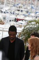 Chris Rock and Jessica Chastain at the Madagascar 3: Europe's Most Wanted photocall at the 65th Cannes Film Festival. Friday 18th May 2012 in Cannes Film Festival, France.