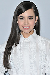 Sofia Carson arrives at We Day California 2017 held at The Forum in Inglewood, CA on Thursday, April 27, 2017. (Photo By Sthanlee B. Mirador) *** Please Use Credit from Credit Field ***