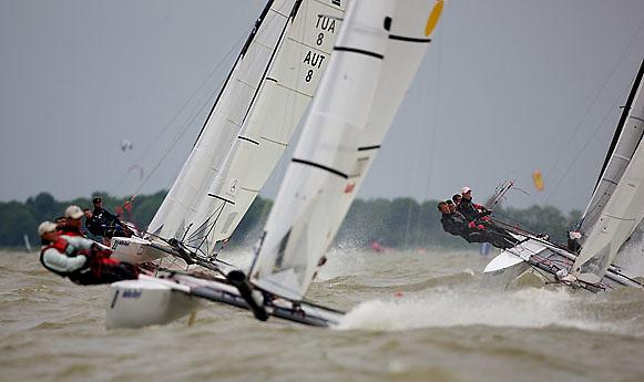08_004113 © Sander van der Borch. Medemblik - The Netherlands,  May 25th 2008 . Final day of the Delta Lloyd Regatta 2008.