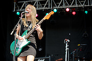 Ume performing at the LouFest Music Festival in St. Louis on August 28, 2011.