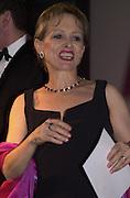Clare Francis. The British Book Awards. Hilton, London. 22 February 2001. © Copyright Photograph by Dafydd Jones 66 Stockwell Park Rd. London SW9 0DA Tel 020 7733 0108 www.dafjones.com