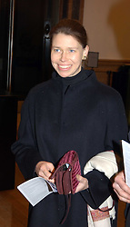 LADY SARAH CHATTO daughter of the late Princess Margaret at a private view of the new exhibition 'Matisse, his Art and his Textiles' at the Royal Academy of Art, Burlington House, Piccadilly, London on 1st March 2005.<br /><br />NON EXCLUSIVE - WORLD RIGHTS