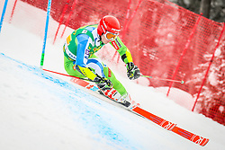 Zan Kranjec of Slovenia during 2nd run of Men's Giant Slalom race of FIS Alpine Ski World Cup 57th Vitranc Cup 2018, on March 3, 2018 in Podkoren, Kranjska Gora, Slovenia. Photo by Ziga Zupan / Sportida