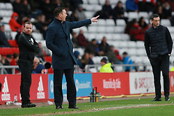 March 2, 2019 - Sunderland, England, United Kingdom - Plymouth Argyle manager Derek Adams during the Sky Bet League 1 match between Sunderland and Plymouth Argyle at the Stadium Of Light, Sunderland on Saturday 2nd March 2019. (Credit Image: © Mi News/NurPhoto via ZUMA Press)