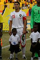 Photo: Steve Bond/Richard Lane Photography.<br />Guinea v Morocco. Africa Cup of Nations. 24/01/2008. Morocco skipper Youssef Safri of Southampton